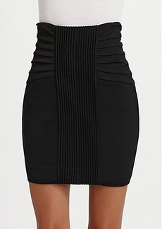 Catherine Malandrino Textured Pencil Skirt