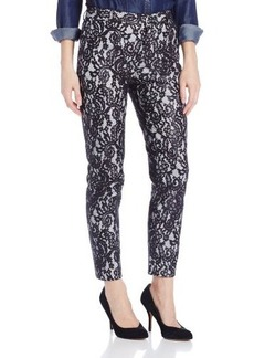 Catherine Malandrino Women's Christy Lace Trouser Pants