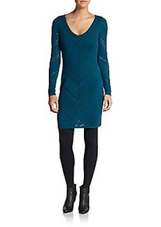 Catherine Malandrino Wool Sweater Dress