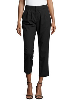 Catherine Malandrino Woven Pleated Pants