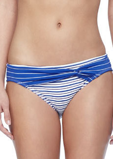 Tommy Bahama Mingling Stripped Twist-Front Hipster Bottom
