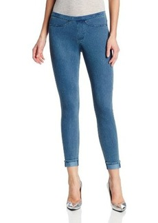 Hue Women's Cuffed Original Jeans Skimmer Leggings