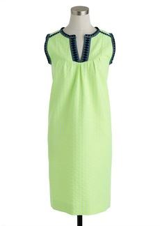 Arrow-print shift dress