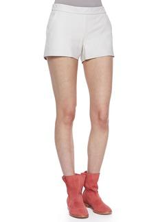 Joie Mariette Leather Shorts