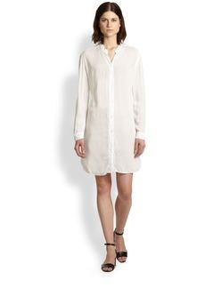 James Perse Cotton Shirtdress
