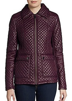Saks Fifth Avenue BLUE Lightweight Quilted Jacket