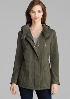 DKNY Anorak - Toni Hooded High/Low