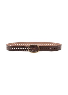 Linea Pelle Tumbled Perforated Belt