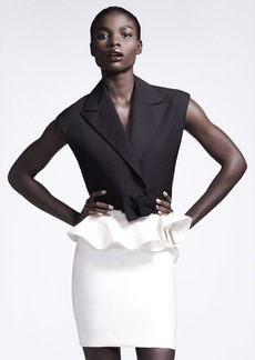 Lanvin Ruffle-Waist Skirt