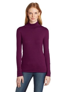 Jones New York Women's Long Sleeve Turtle Neck