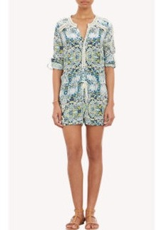 Twelfth Street by Cynthia Vincent Abstract-Print Romper