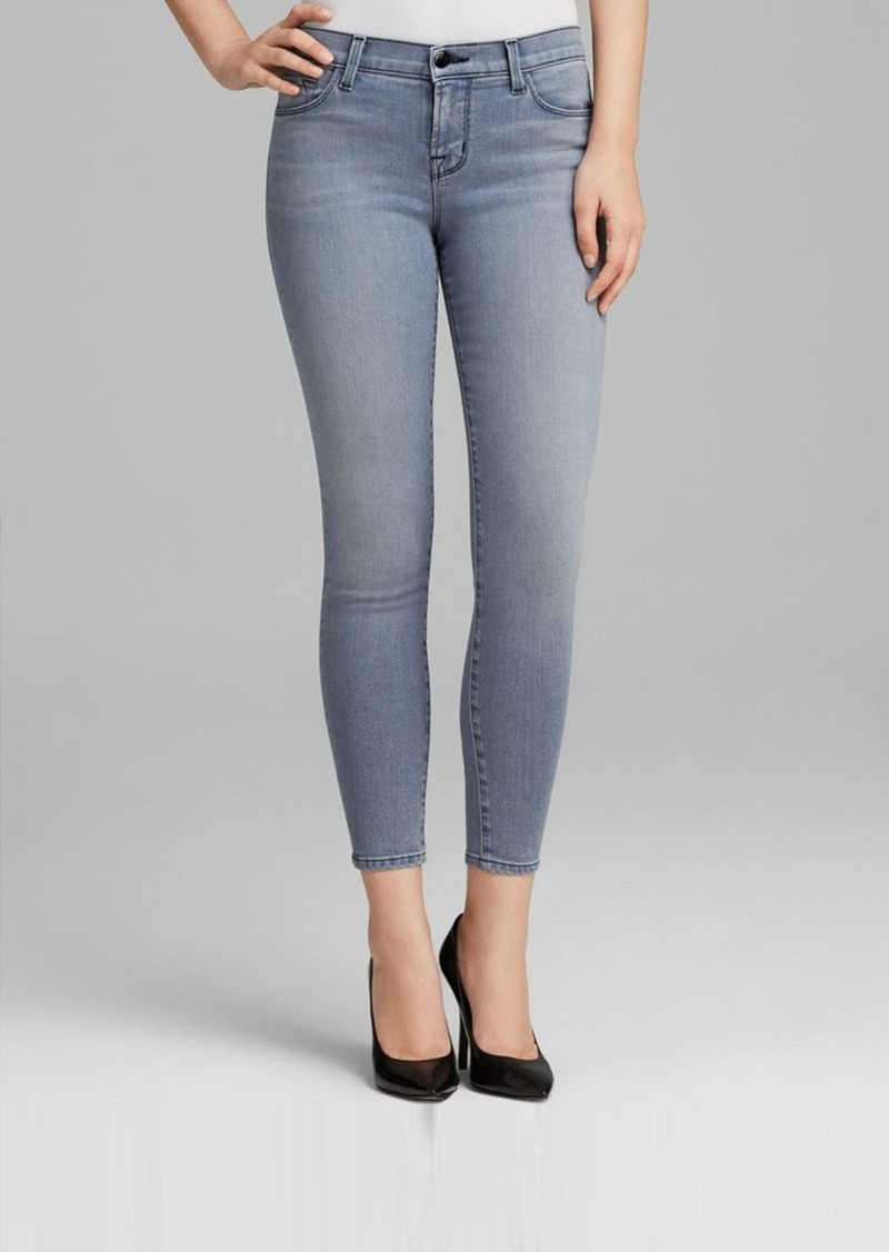 J Brand Jeans - 835 Close Cut Mid Rise Crop in Strobe