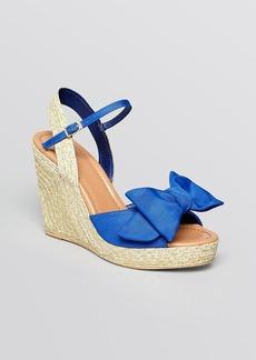 kate spade new york Open Toe Espadrille Platform Wedge Sandals - Jumper