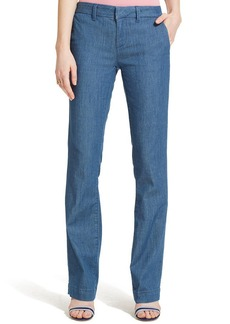 Tommy Hilfiger Wide-Leg Denim Trousers