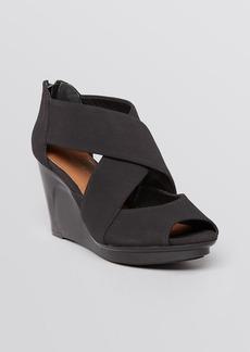 Donald J Pliner Peep Toe Platform Wedge Sandals - Apollo