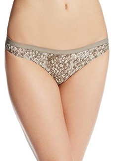 Calvin Klein Women's Abstract Thong Panty