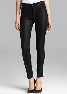 James Jeans - High Class Skinny in Black Slate Coated