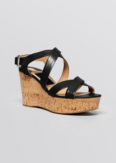 Salvatore Ferragamo Platform Wedge Sandals - Persy