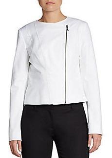 Tahari Brenna Asymmetrical Boxy Jacket