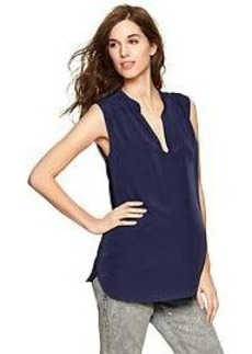 Shirred pullover top