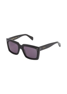 Celine black rectangle frame 'Graphic' sunglasses