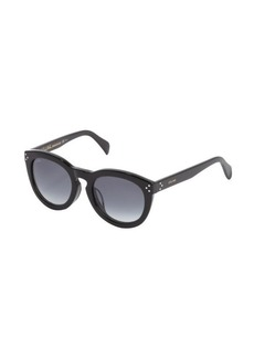 Celine black round frame 'New Audrey' sunglasses