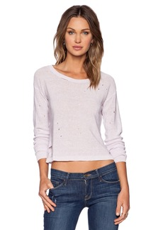 Central Park West Austin Cropped Sweater
