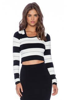 Central Park West Noho Crop Sweater