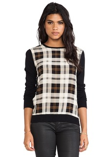Central Park West Schenectady Pullover in Black