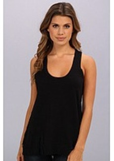 Central Park West Tank With Sheer Back
