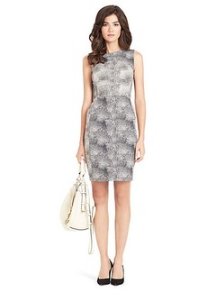 Eden Dot Printed Shift Dress