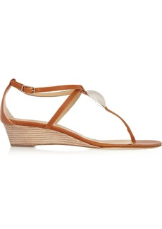 Giuseppe Zanotti Volta wedge leather sandals