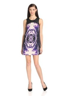 Kensie Women's Cutout Print Dress