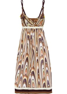 M Missoni Printed cotton dress