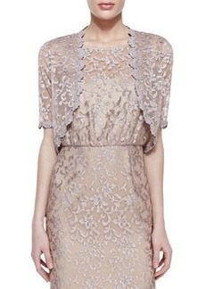 Laundry by Shelli Segal Sheer Lace Shrug