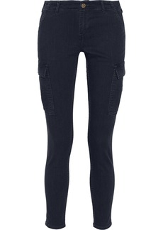 AG Jeans The Slim Cargo mid-rise skinny jeans