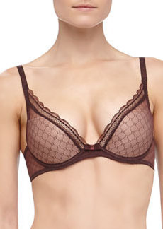 Chantelle C Chic Convertible Push-Up Bra, Brown