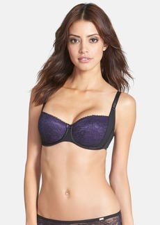 Chantelle Intimates 'Superbe' Floral Lace Underwire Demi Bra