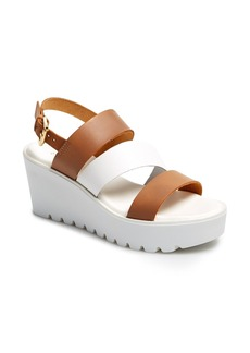 Charles David 'April' Platform Wedge Sandal (Women)