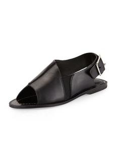 Charles David Arianna Leather Slingback Sandal