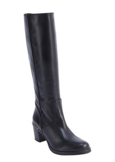 Charles David black leather side zip 'Jacob' boots