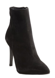 Charles David black suede 'Dubio' stiletto ankle boots