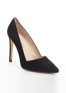 Charles David black suede pointed toe 'Passion' pumps