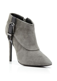 Charles David Booties - Valle Buckle High Heel