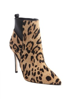 Charles David cheetah calf hair 'Gigi' booties