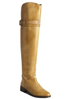 Charles David chestnut leather 'Province' knee-high boots