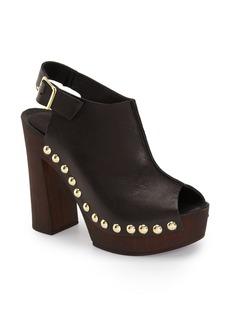 Charles David 'Ciao' Platform Peep Toe Slingback Sandal (Women)