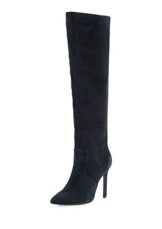 Charles David Constance Suede High-Heel Boot