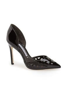 Charles David 'Contessa' Perforated d'Orsay Pump (Women)