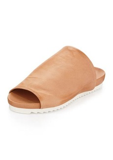 Charles David Dante Leather Slide Sandal